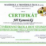 Certifikát - lávové kameny
